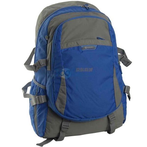 威豹winpard双肩背包/背提包11369-浅灰/蓝图片图片