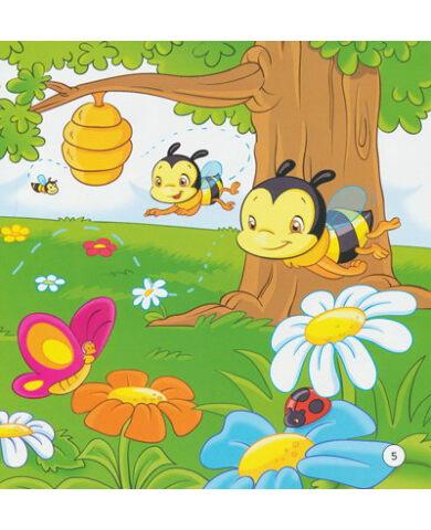 《小益虫系列:爱劳动的小蜜蜂》