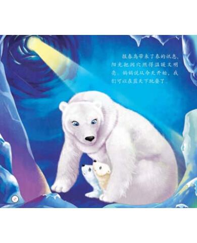 《动物日记:北极熊,企鹅