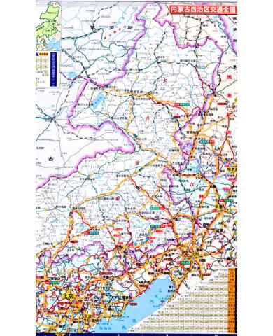 旅游/地图 全国高速公路/铁路地图