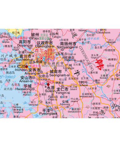 世界热点国家地图·朝鲜