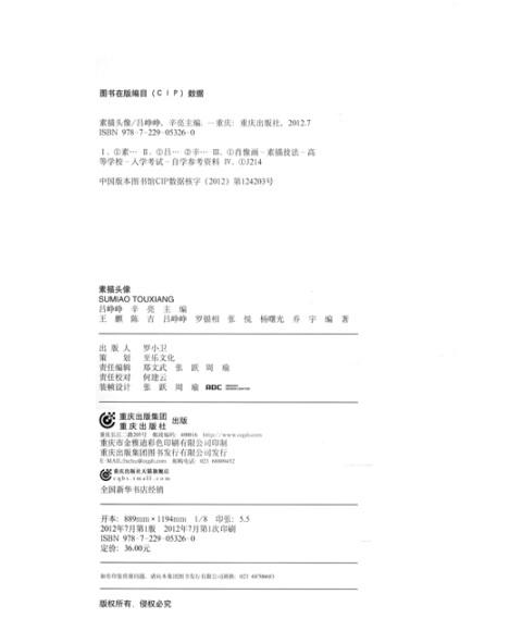 《艺考魔方:素描头像》(吕铮铮,辛亮)【摘要 书评 】