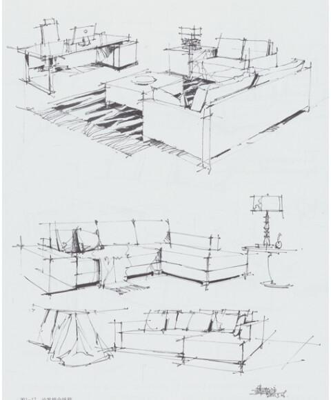 空间快题设计 展示空间设计