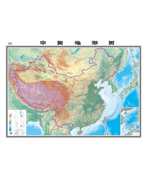2全张系列地图:中国地形图
