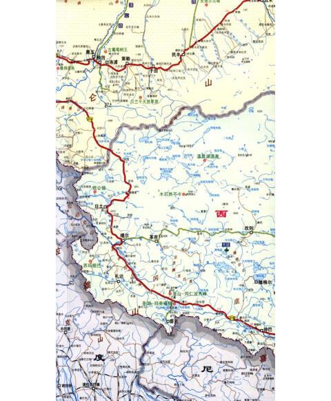 专用地图系列:新疆