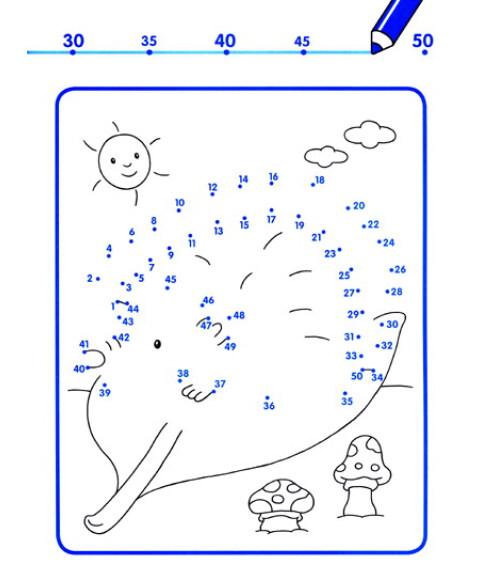 快乐连线游戏:数字1-50(新版)图片