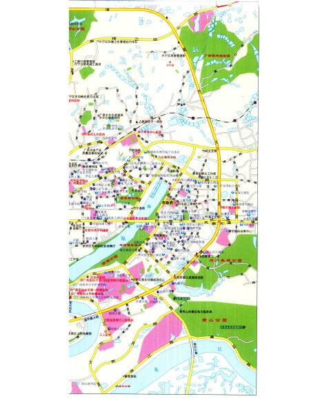福建广东广西海南区地图展示