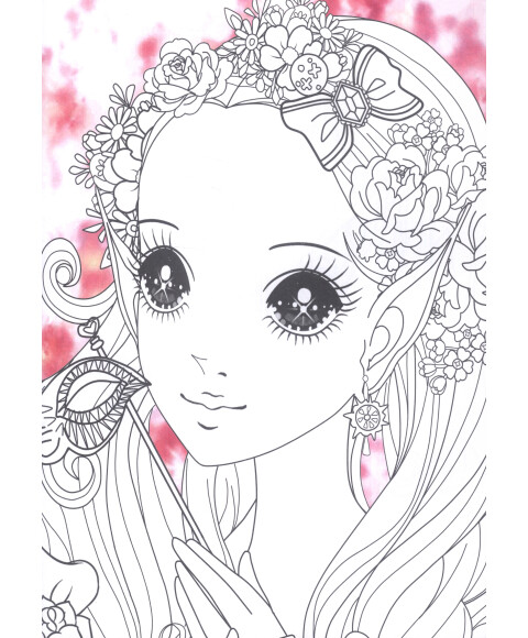 漫画公主 女生 手绘
