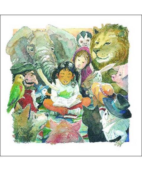 《海豚绘本花园:我讨厌书(适合3-6岁儿童)》