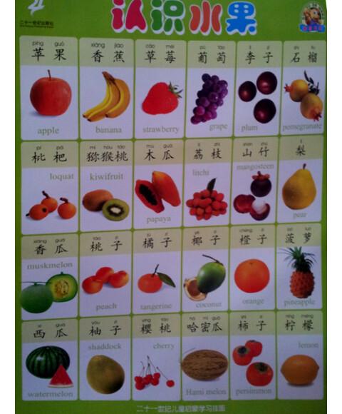 水果·认识蔬菜》