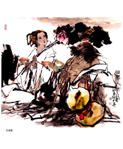 中国画名家技法丛书:古代人物画技法全解