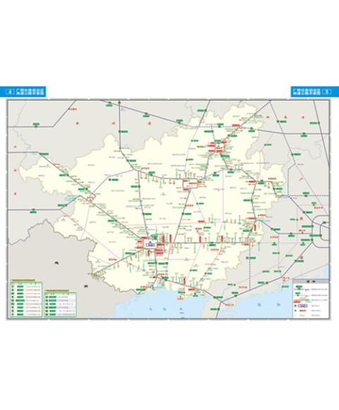 广西及周边省区公路网地图集:桂粤湘贵云(2014版)