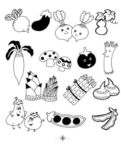 时尚手绘素材库:儿童画资料大全