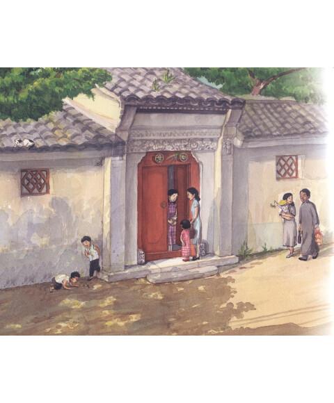 幼儿园铁门绘图