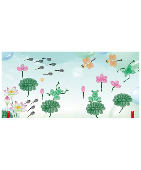 幼儿美术小手工全书:手指印画图片