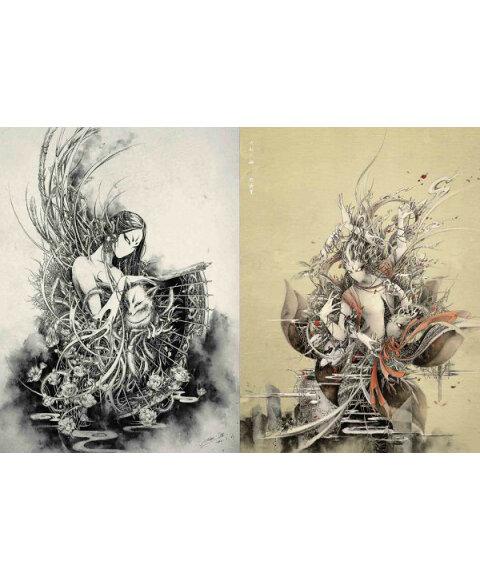 黑白画意:专业手绘插画攻略图片