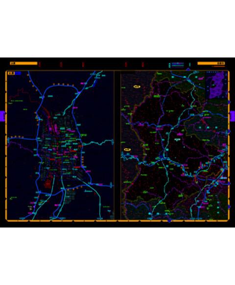 《2012中国高速公路自驾导航地图集》【摘要