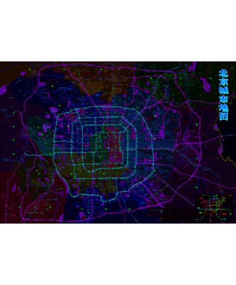 北京市大兴区划地图
