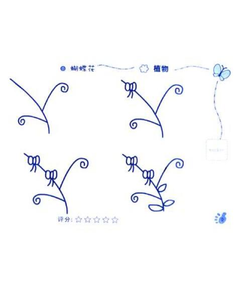 儿童简笔画:植物+动物(套装共2册)