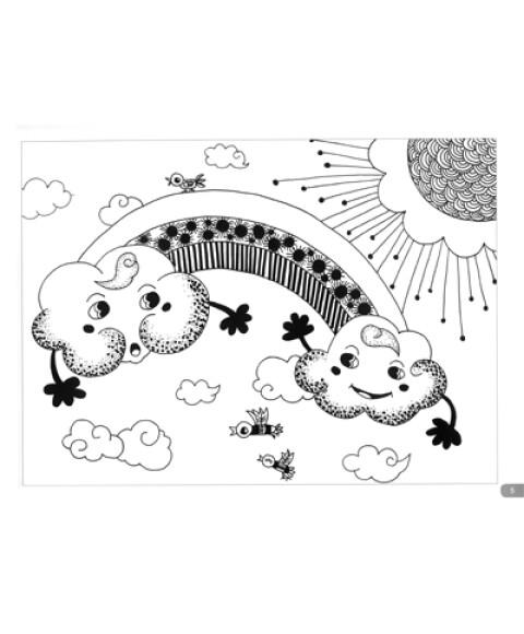 少儿美术进阶课堂:儿童线描画启蒙