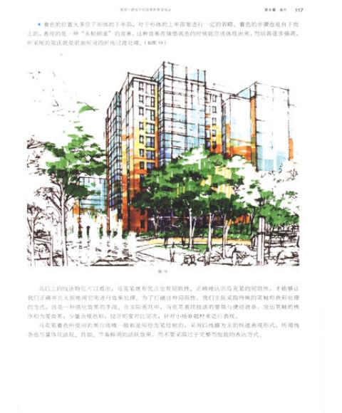 景观?建筑手绘效果图表现技法