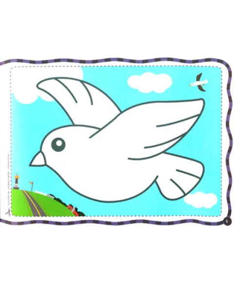鄂美童书·涂涂画画小画家:我爱简笔画(人物动物篇)