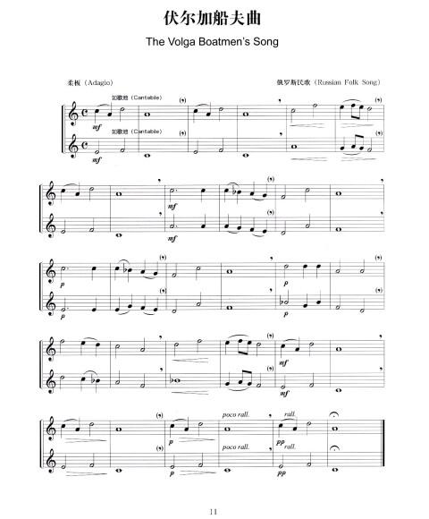 简易萨克斯二重奏曲集.含盘