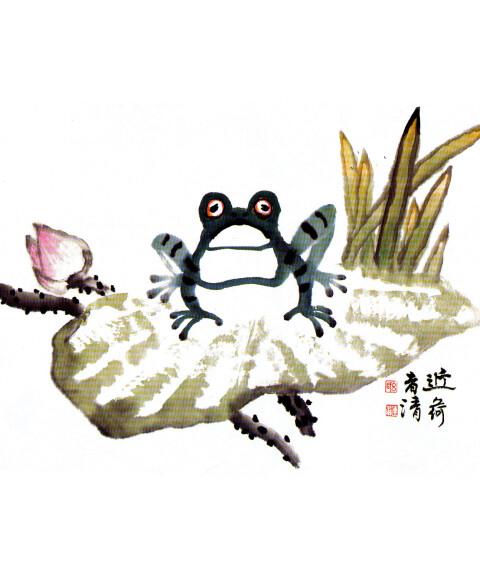 《21世纪少儿中国画课堂·少儿国画启蒙:水族篇》