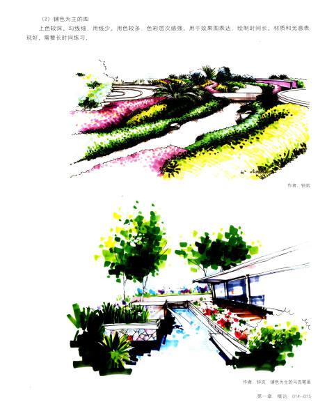 设计与手绘丛书:马克笔园林景观手绘表现