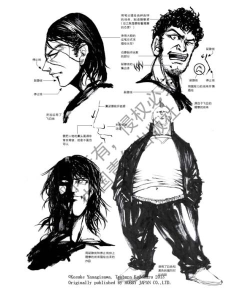 《日本漫画大师讲座16:男子个性动态素描》