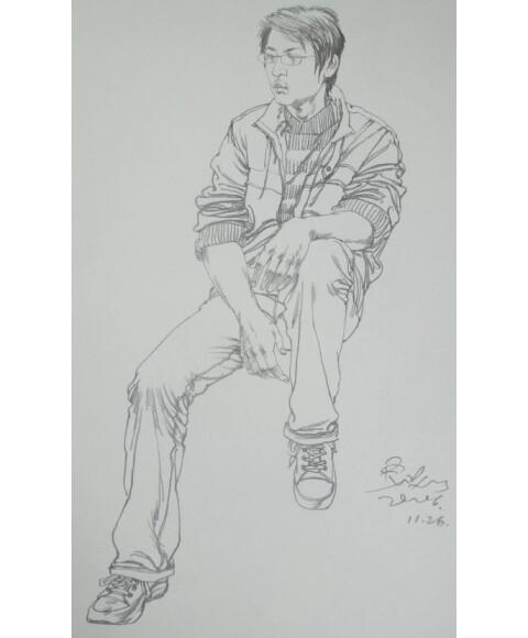 吴磊手机壁纸手绘