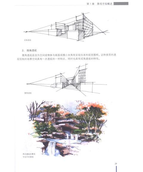 园林景观设计手绘表现技法-手绘训练营/本社
