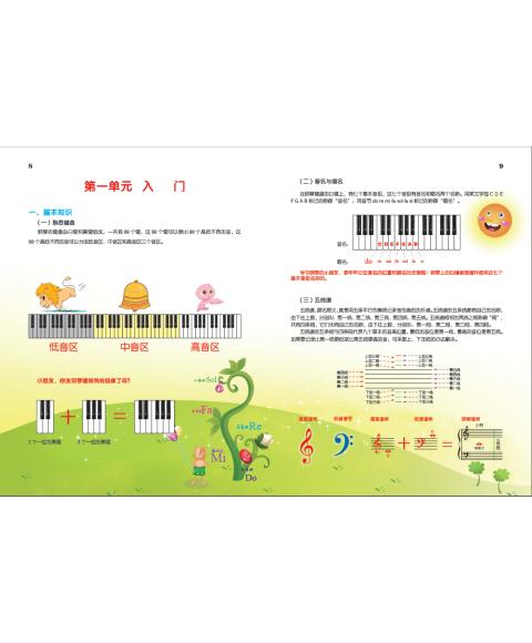 《儿童钢琴起步教程(第1册)》