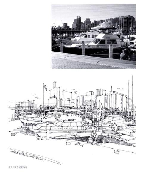设计与手绘丛书:建筑钢笔手绘表现技法