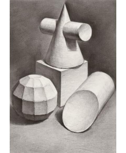 素描风暴:几何形体·形体与结构