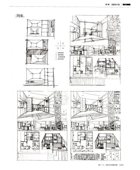 完全绘本·室内设计:手绘表达教学对话