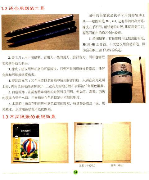 《水溶性色铅笔手绘:大自然的质感笔迹》(栀)【摘要