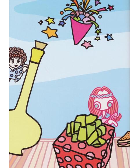 我的创意涂画百宝箱·美丽公主:拼贴本 涂色本 描线本(套装3册)