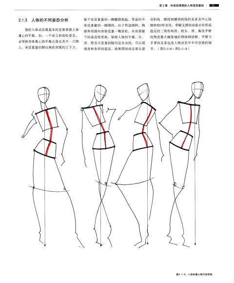 完全绘本:时装设计效果图手绘技法(修订版)图片