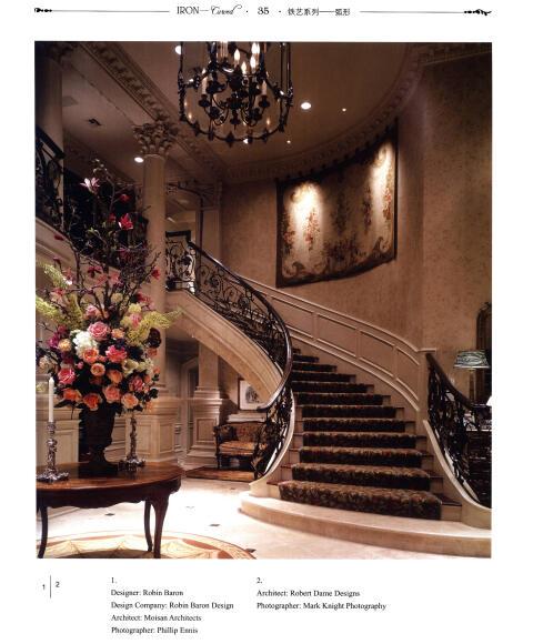 欧式古典楼梯-(上.下)/本社
