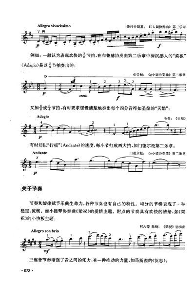 成都--小提琴五线谱--完整版