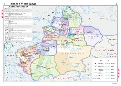 新疆自驾旅游地图_新疆旅游地图