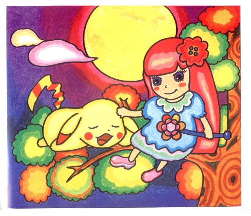 水彩笔儿童画范画
