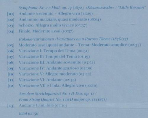 柴科夫斯基:第二交响曲(cd)