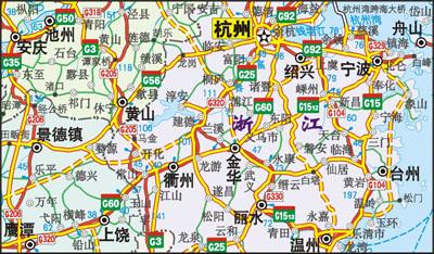 中国高速公路地图全图 中国高速公路地图 中国高速公路 中国高速公路网