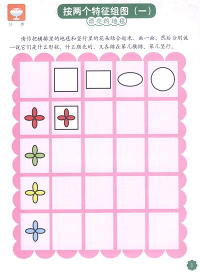 《何秋光思维训练:儿童数学智力潜能开发5-6岁1》