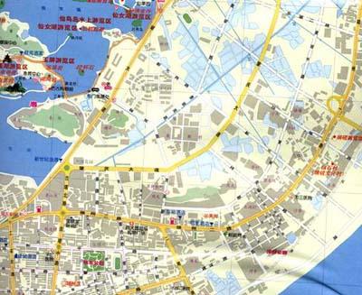 肇庆市市中心地图