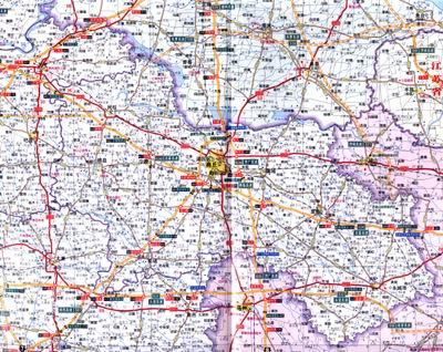 中国高速公路地图全图 中国高速公路地图册 中国高速公路地图