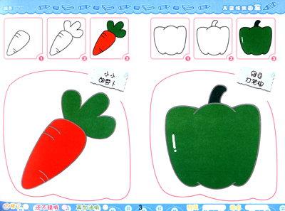 小孩画画简易图片