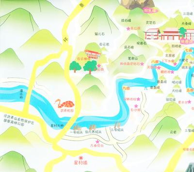 《手绘地图系列之山海情武夷厦门逍遥游》【摘要